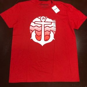 Pink dolphin red anchor Tshirt XLarge